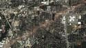 Le passage d'une tornade vu par satellite