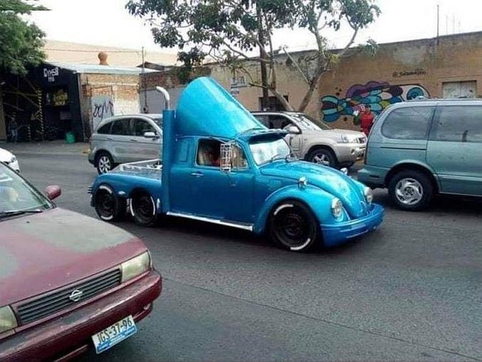 Beetle Bug  tractor