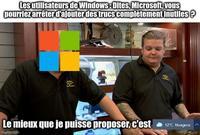 Les mises à jour Microsoft