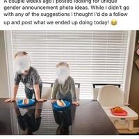 Annoncer le sexe de son futur enfant avec classe.