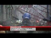 Une grue s'effondre en plein cœur de New-York
