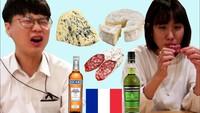 Quand des Coréens goûtent de la nourriture française ...