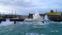 Les vagues submersions - Saint-Malo - Bretagne