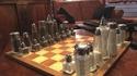 Jeu d'échecs de restaurant