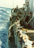Quand la navy croisait un bâtiment russe