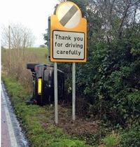 Conduisez prudemment