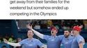 L'équipe olympique américaine de curling