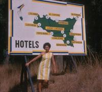 1964, une carte touristique insolite de Sicile...