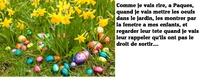 Poisson d'Avril de Pâques...
