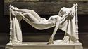 Doux rêves, sculpture en marbre