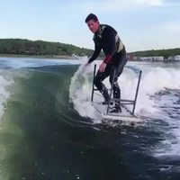 Kan t'as oublié ton surf mais que tu te laisse pas abattre
