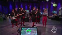 "Red Hot Chilli Pipers performen ""Scotland the brave/We will rock you"" on NRW Live"