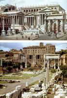 Evolution depuis le forum de l'Antiquité