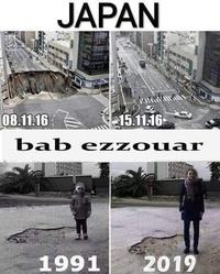 Japon: un énorme trou dans la chaussée réparé en 7 jours...