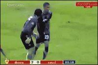 Le foot, un sport de rigolos!