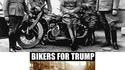 """Les motards américains """"roulent"""" pour Trump"""