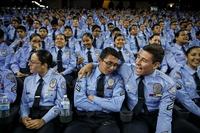 latimes : Les cadets de la Police de Los Angeles