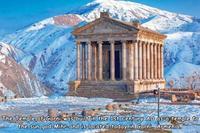 Temple romain de Garni (Arménie) dans un état de conservation remarquable