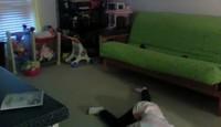 Petit fail dans sa chambre