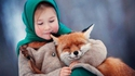 Fillette au renard