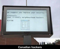 Des hackers canadiens