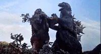 King Kong essaye de convertir Godzilla au veganisme