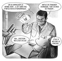 Dentiste serein mais pas trop