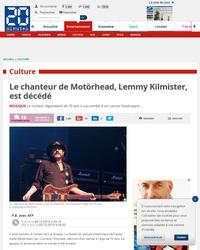 RIP Lemmy ! 2