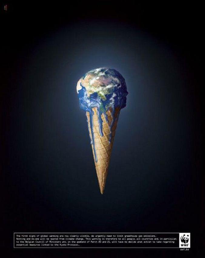 Une publicité de WWF très bien trouvée.