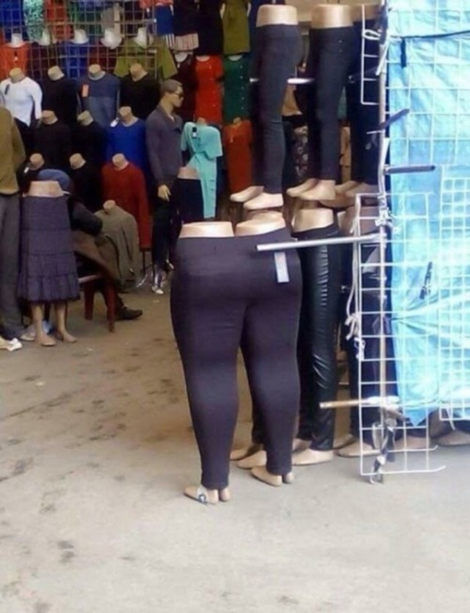 Un pantalon pour jumelles