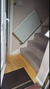 Quand tu avais froid à chaque fois que tu montes les escaliers