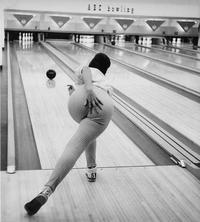 Un joli mouvement au bowling