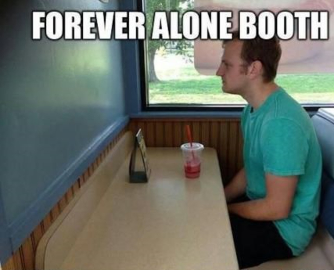 forever alone level 99