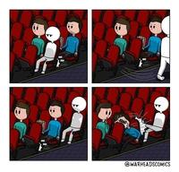 Kan tu vas au cinéma
