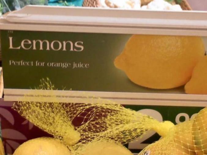 Idéal pour le jus... d'orange.