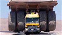 Livraison de Camions de chantier géants à domicile...