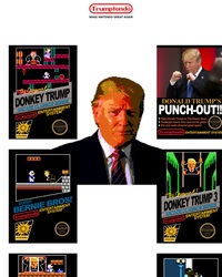 Trumptendo, de la Nintendo mais avec du Trump dedans!