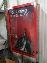 En cas de bris de vitre