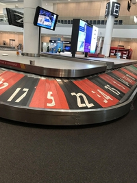 Récupérer sa valise à l'aéroport