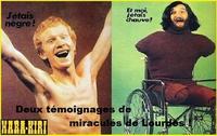 Deux miraculés de Lourdes enfin reconnus par l'Eglise.