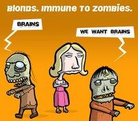 L'immunité des blondes