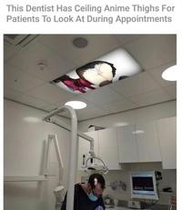 Pendant ce temps, chez le dentiste