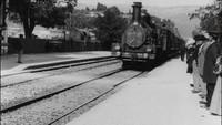 L'arrivée d'un train en gare de La Ciotat remasterisé en 4K