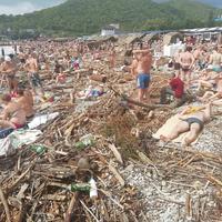 Cradoplage évoquant les plages marseillaises