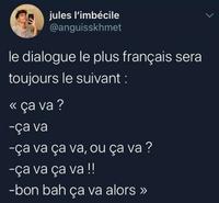 Plus français, on n'a pas !