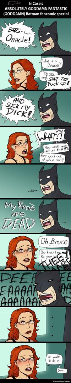 Bat blowjob