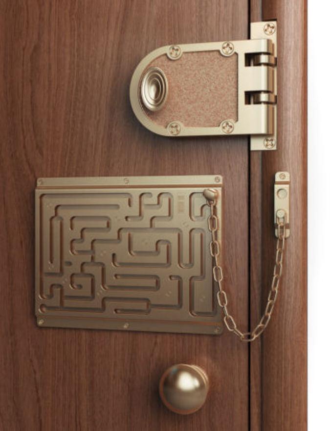 Un nouveau système de sécurité pour portes.