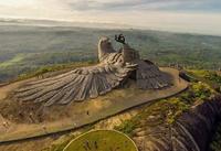 Kerala (Inde): On prétend que c'est la plus grande sculpture au monde