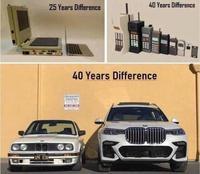 Des décennies d'évolution