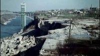 Les chutes du Niagara asséchées